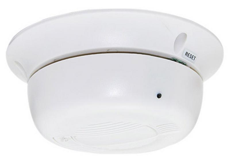 wireless ip camera hidden in smoke detector spy shop. Black Bedroom Furniture Sets. Home Design Ideas