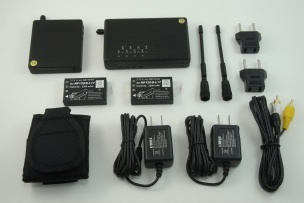 Wireless 500mW transmitter with EXCLUSIVE receiver