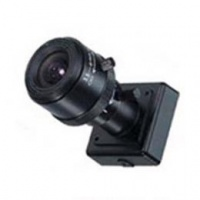 Analog CCTV mini camera 1/3 CCD varifocal 3.5 - 8mm