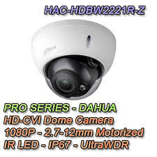 Dahua HAC-HDBW2221R-Z video nadzorna kamera 2MP WDR HDCVI IR Dome